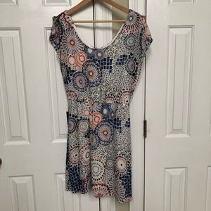 NWT Outback Red The Limited elastic waist dress